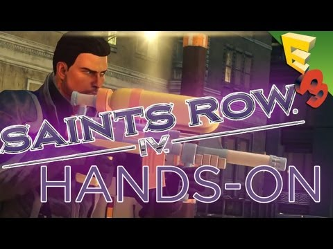 Saints Row 4 GAMEPLAY HANDS-ON! Impressions From E3 2013