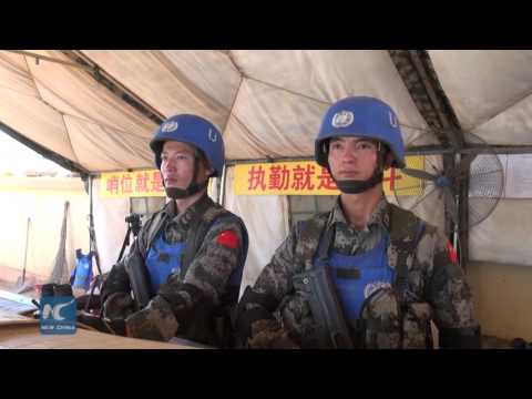 Chinese peacekeepers help restore peace in Mali