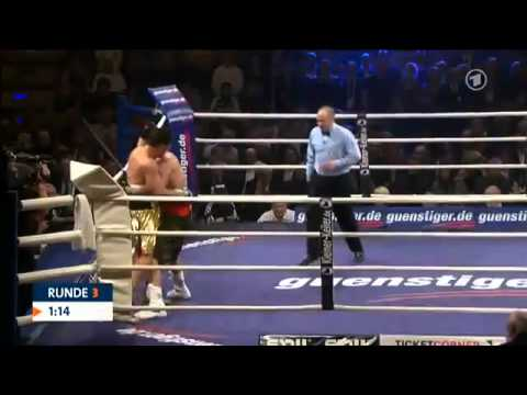 Marco Huck vs. Adam Richards - Runde 3 Knockout