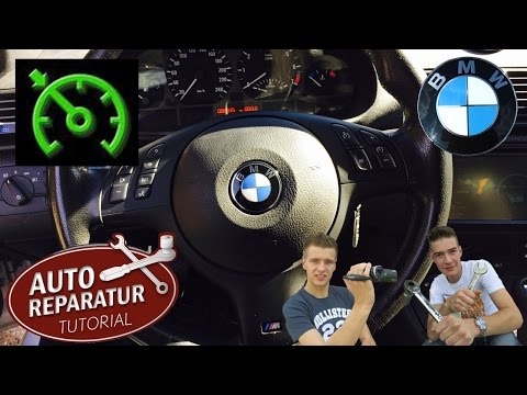 BMW E46 Multifunktionslenkrad   Tempomat nachrüsten [Tutorial] multifunction steering cruise control