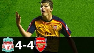 Liverpool vs Arsenal 4-4 All Goals and Highlights 2008 2009 HD 720p