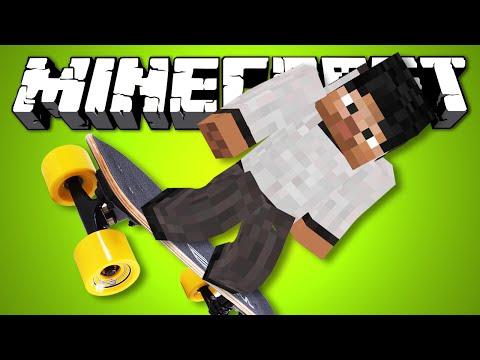 ЛУЧШИЙ СКЕЙТБОРД - Minecraft (Обзор Мода)