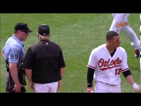 Manny Machado Fight Highlights