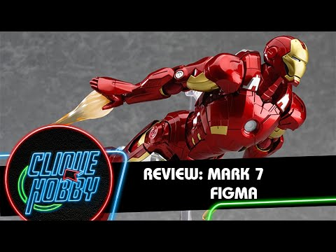 Review: Action Figure Homem de Ferro Mark 7 - Figma - Vingadores - Iron Man Avengers