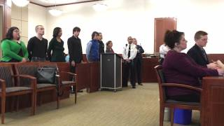 Participants in Worcester Antifa march appear in court.