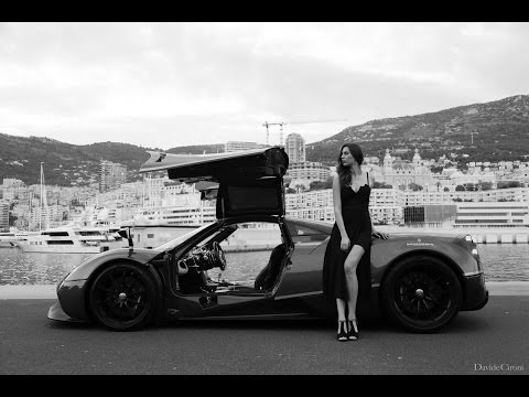 Spot Pagani Huayra - Inserito da Davide Cironi il 14 luglio 2016 durata 1 minuto e 39 secondi - Just for fun during 1000 KM GT in Montecarlo. Written and directed by Davide Cironi. Shooted by Stefano Ianni e Francesco Colantoni. With Michela Dal Toso and Andrea Palma. Thanks to Happy Few Racing. Thanks to Pagani Automobili Modena. Thanks to Manfrotto Italia.