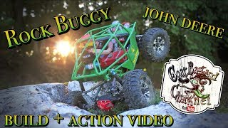 RC Rock Buggy John Deere - build + video action