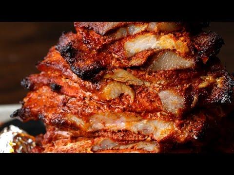Mexican-Style Pork Tacos (Tacos Al Pastor) thumbnail