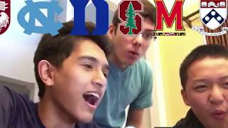 14 COLLEGE DECISION REACTIONS!!! (ALL IVIES+STANFORD+MIT+UCHICAGO+DUKE+MORE)