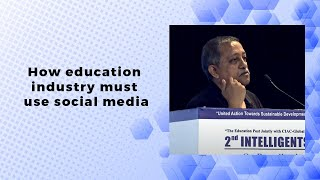 How education industry must use social