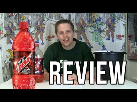 Mountain Dew Code Red Review (Soda Tasting #166)