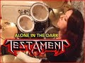 Testament - Alone in the Dark/Drum Cover by Zelynne Drum Bass
