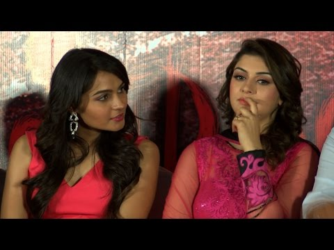 Aranmanai  Audio Launch – Actress Hansika Motwani, Andrea Jeremiah, Raai Laxmi