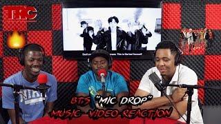 "BTS ""Mic Drop"" Music Video Reaction"