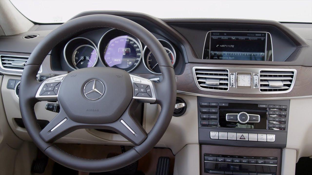 2013 Mercedes E 300 Interior Youtube