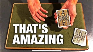 This INSANE No Setup Card Trick Is VISUALLY IMPOSSIBLE!