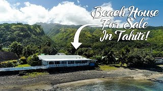 Beach house for sale in Tahiti, French Polynesia!