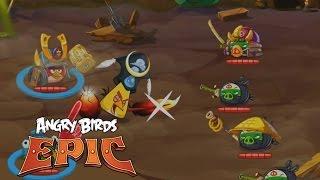 Игра птички против свиней видео игра прохождение