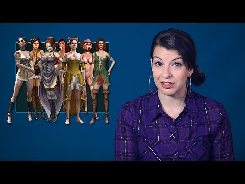Women As Background Decoration: Part 1 - Tropes Vs Women In Video Games video