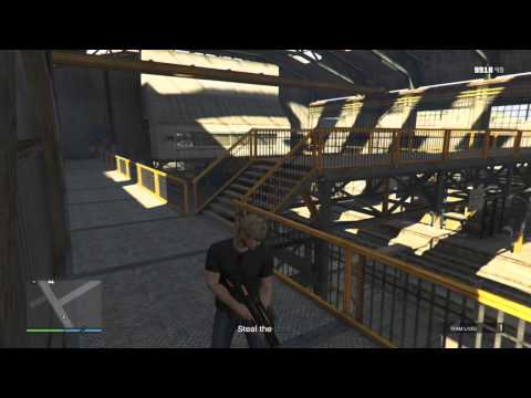 GTA5 Dry Docking with Karuma SOLO on HARD with COMMENTARY