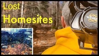 Metal detecting: We followed the old road to lost homesites!
