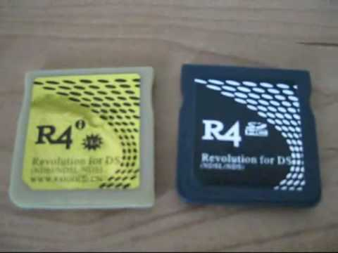 R4i GOLD Unboxing V1.4 upgrade DSi Un-Box Compare R4SDHC www.r4igold.cn Review Comparison Help