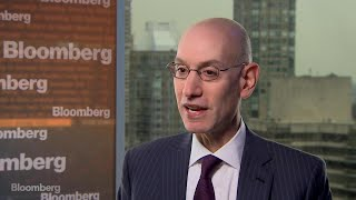 NBA Commissioner Adam Silver Talks Media Strategy and Sports Betting