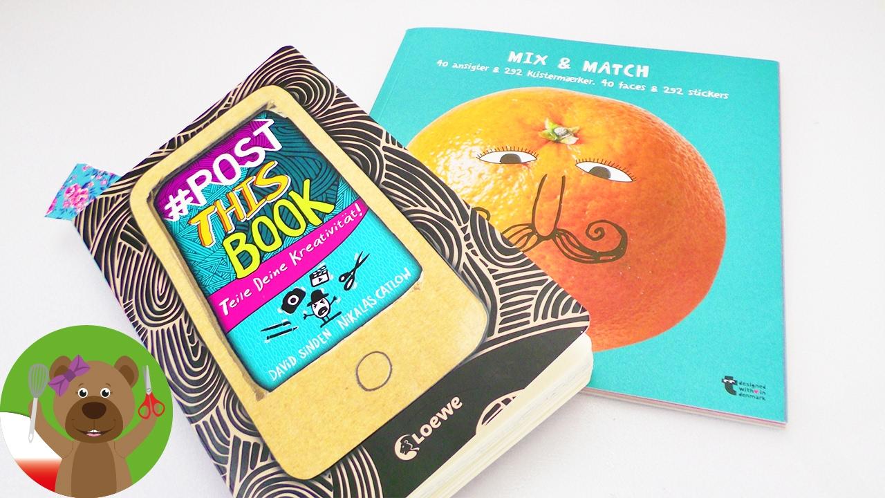#postthisbook | twarze i washi tape | ksiazka z wyzwaniami