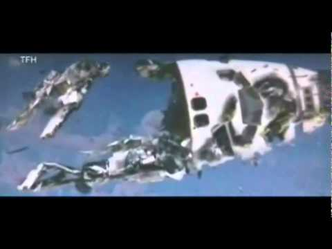 ovnis disparan transbordador espacial