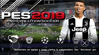PES 2019 CAMERA PS4 PPSSPP ANDROID DOWNLOAD CRISTIANO RONALDO JUVENTUS 4.75 MB
