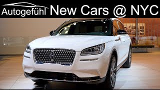 New Cars @ New York Auto Show Highlights REVIEW Tour 2019