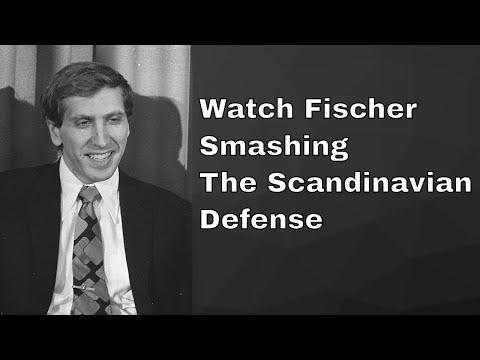 How Bobby Fischer smashed Scandinavian Defense