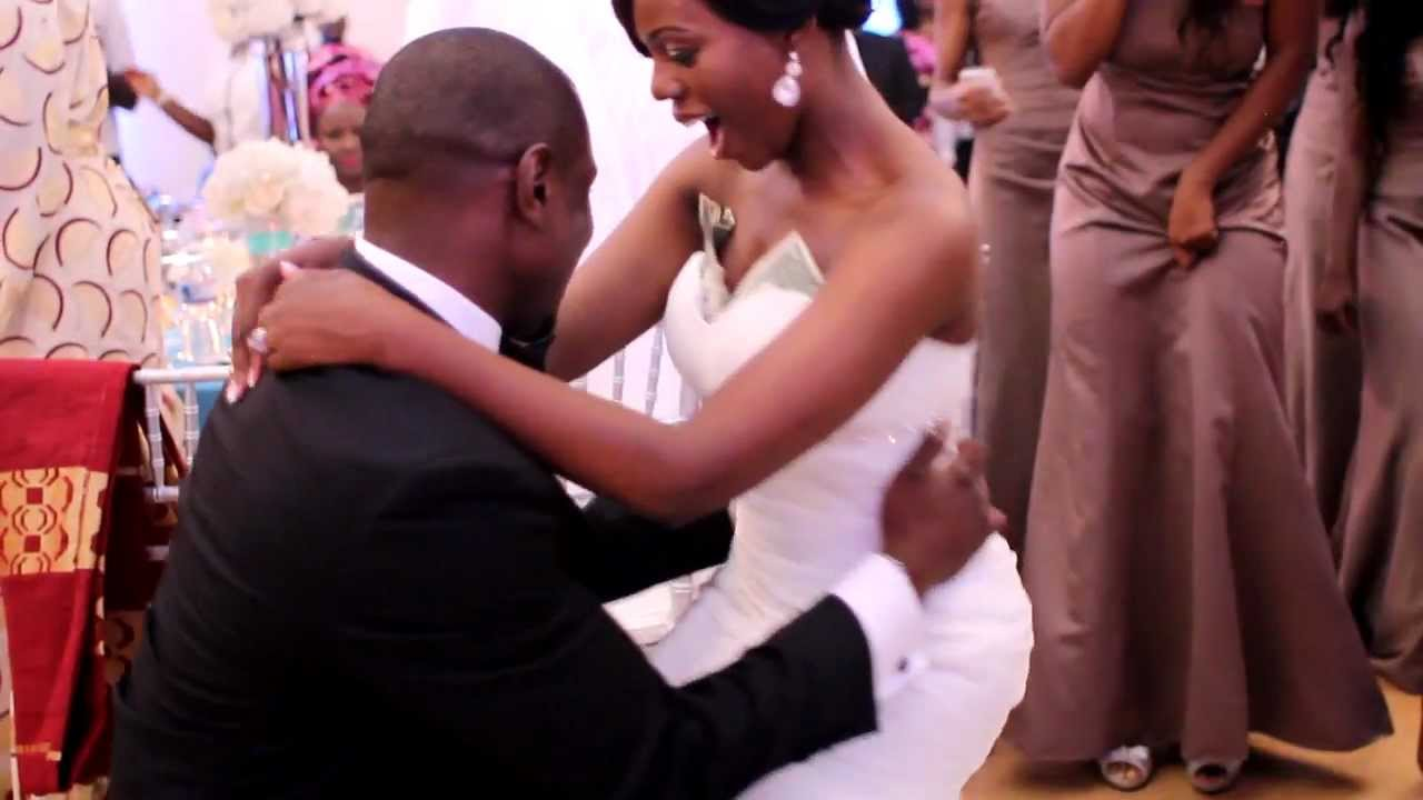 Ghanaian american wedding