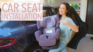 Nuna Rava: Installing My Baby's Car Seat and First Thoughts | Susan Yara