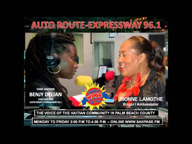 AUTO ROUTE EXPRESSWAY BENJY DELIAN AND DIONNE LAMOTHE