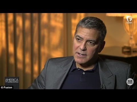 George Clooney Makes Presidential Endorsement