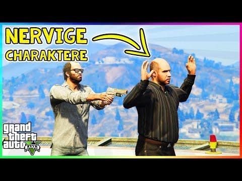DIE 10 NERVIGSTEN CHARAKTERE AUS GTA! | NERVIGE Charaktere aus Grand Theft Auto