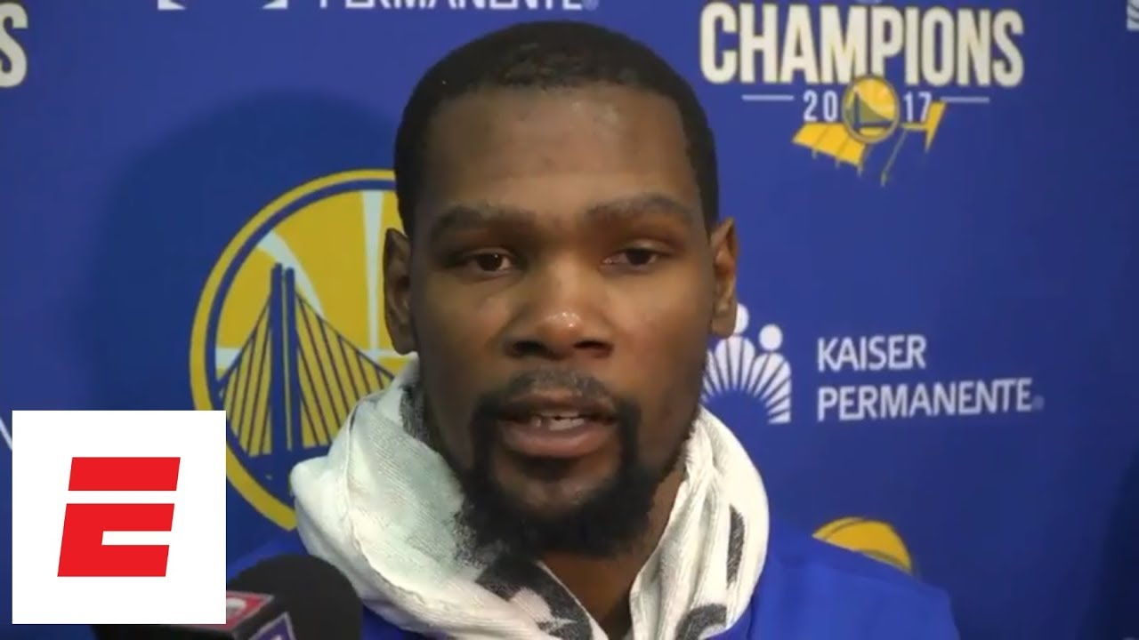 Kevin Durant on whether Warriors like it when Stephen Curry drops f-bomb: 'F--- yeah' | ESPN