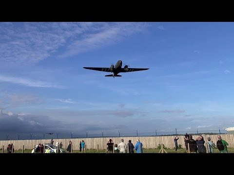 D-Day 70th Anniversary Memorial Flypast, Lee On Solent England.