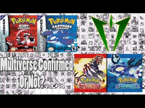 Pokemon Theory: Delta Multiverse Anime Link?! video