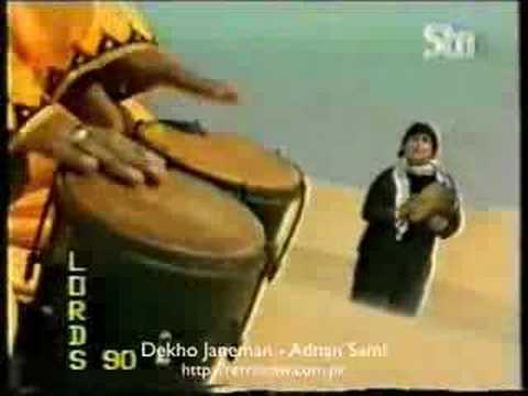 Adnan Sami Khan - Dekho Janeman (Pakipop.com)