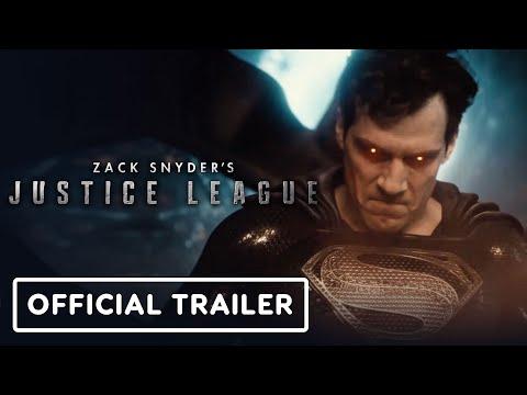 Zack Snyder's Justice League - Official Trailer (2021) Henry Cavill, Ben Affleck, Gal Gadot