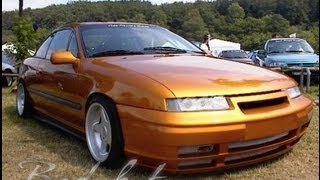 OPEL CALIBRA!SUPER CAR TUNING RETRO AVTO!!!