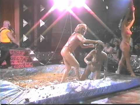 Female Mud Wrestling - Sheri Vs. Leslie video
