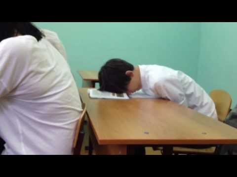 Прикол на ОБЖ в школе №16