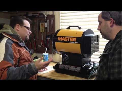 Master MH-70-SS / Pro-Temp Sun Stream Portable 70.000 BTU Radiant Kerosene Heater - Review