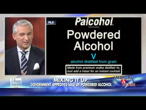 Government approves sale of powdered alcohol