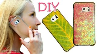 3 DIY Phone Case Designs - How To Make Custom Phone Covers Tutorial