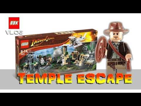 LEGO Indiana Jones 7623 Temple Escape Speed Build Review Time Lapse Epic Yard Sale Find