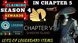 Shadow Fight 3 season Rewards chapter 5 update Legend League